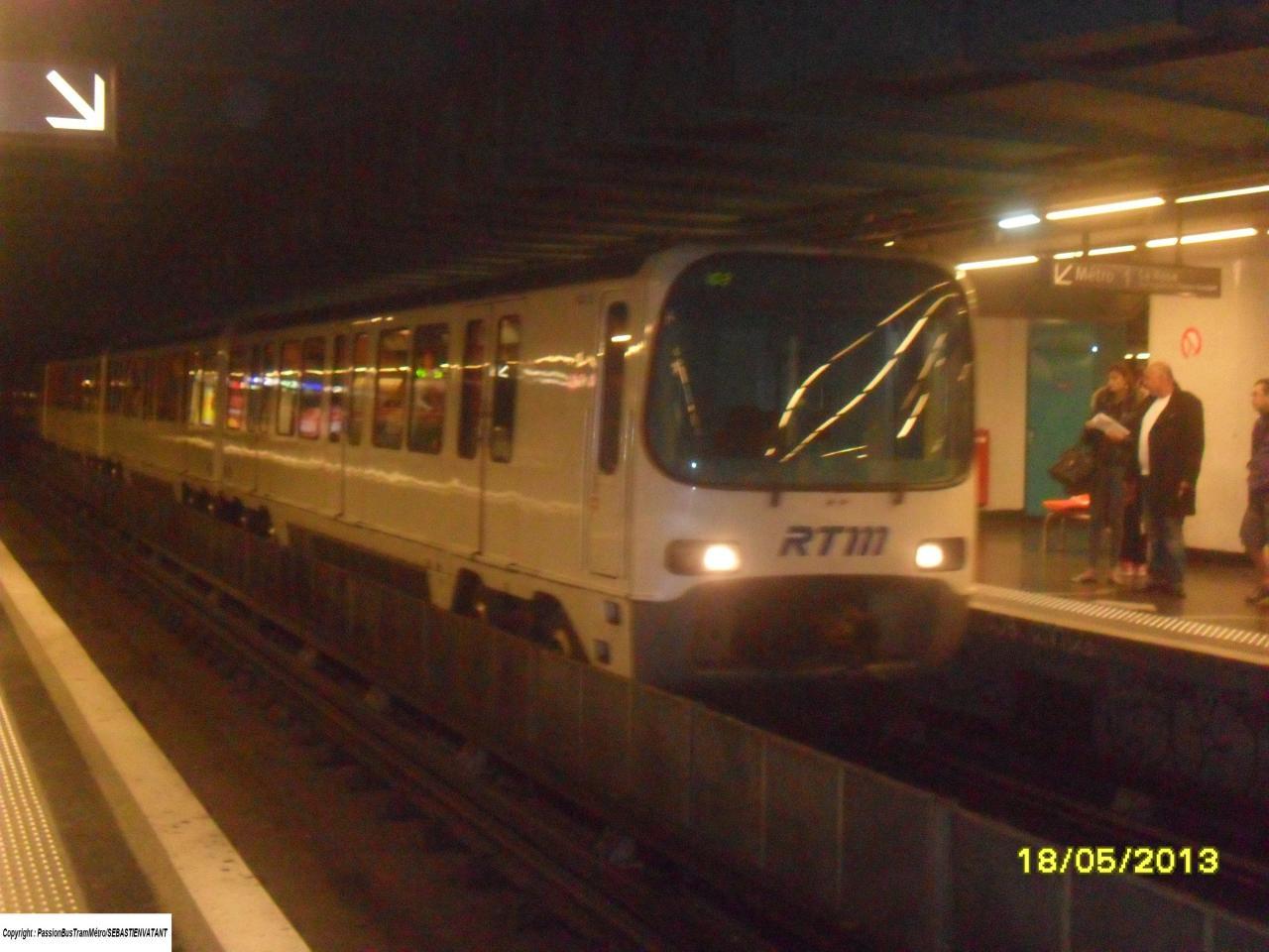 Rtm marseille for Metro interieur