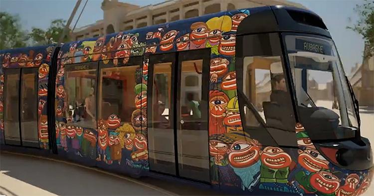tramway citadis compact du pays d aubagne et de l etoile le design unique du futur tramway de. Black Bedroom Furniture Sets. Home Design Ideas